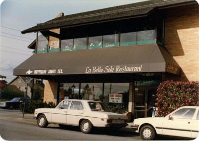 La Belle Sole Restaurant