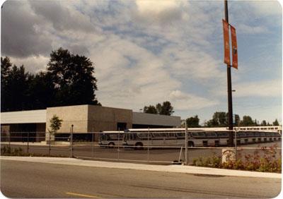 West Vancouver Municipal Blue Bus