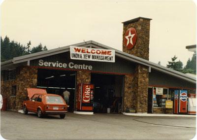 Texaco Service Station