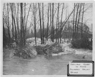Capilano River Flood