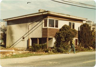 Demolition of House