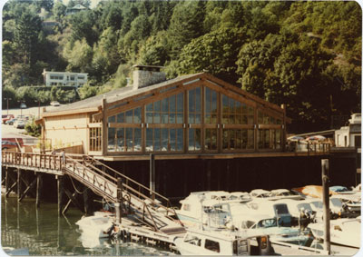 Sewell's Restaurant from the Dock