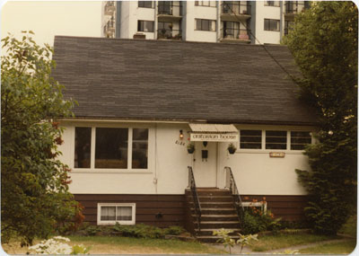 """Unitarian House"" at 2136 Marine Drive"