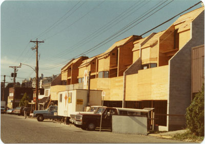 Construction at 1400 block Clyde Avenue
