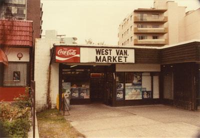 West Van. Market
