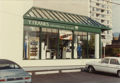 Y. Franks Appliance Store