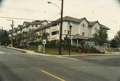 Condominiums on the Corner of 14th & Duchess