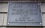 Klee Wyck Art Centre Dedication Sign