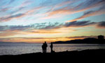West Vancouver Beach Sunset