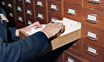 Library Card Catalogue System