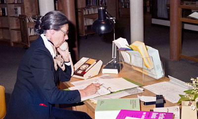 WVML Staff Member Margaret Walter
