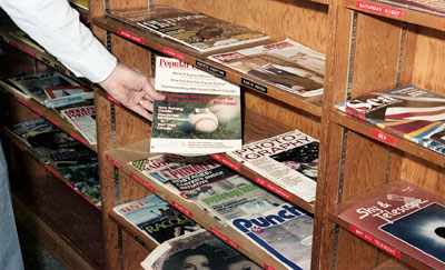 WVML Magazine Shelf