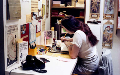 Woman Working at the WVML