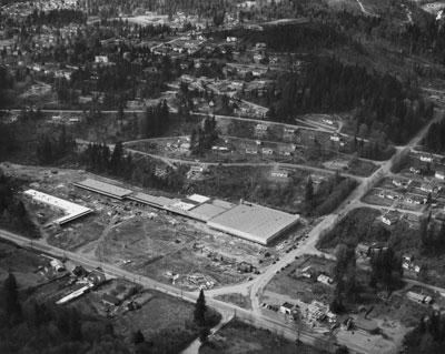Aerial Photo Park Royal