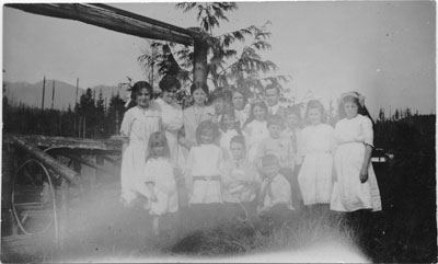 Ethel Millard's Sunday School group