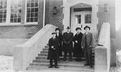 Opening of Pauline Johnson School