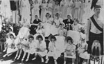 May Queen and Attendants