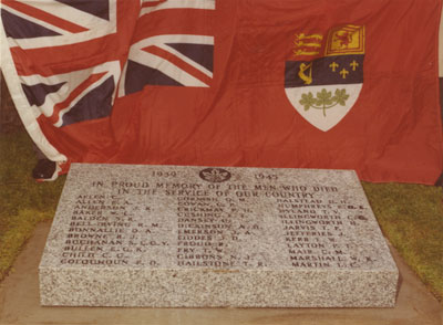 Second World War Plinth
