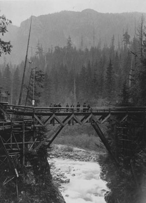 Bridge, Capilano Canyon