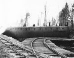 Derailed Pacific Great Eastern Train