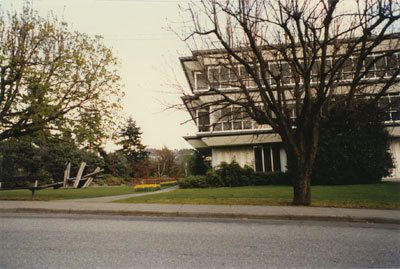 The West Vancouver Municipal Hall