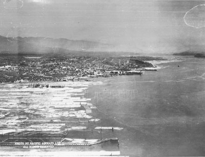 Aerial Photo of North Vancouver