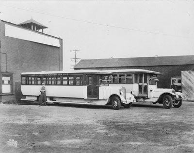 West Vancouver Municipal bus No. 3