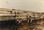 Hollyburn Wharf & Swimmers