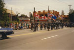 West Vancouver Community Day Parade (Colour Party)