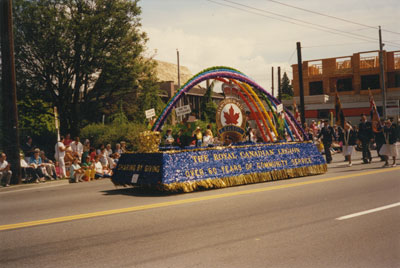 Community Day Parade (Legion float)