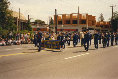 Community Day Parade (West Vancouver Youth Band)