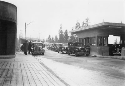 Lions Gate Bridge Toll Booth