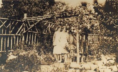 """Garden at """"West Court"""""""