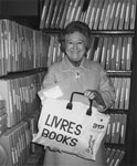 Kay Costain Delivers Books to Home Bound Patrons