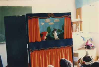 Community Day Puppet Show