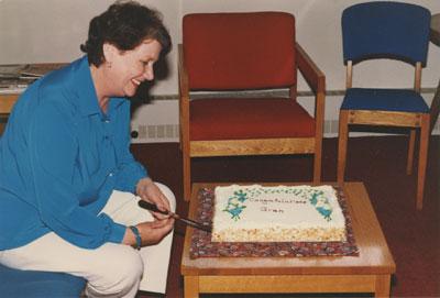 Maureen Whiteley Celebrating