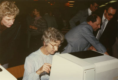 Official Opening of the West Vancouver Memorial Library Computer System