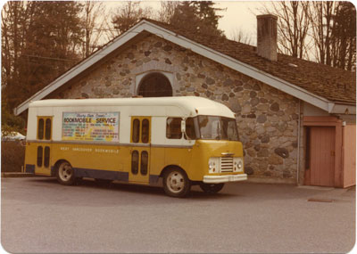 The West Vancouver Memorial Library Bookmobile