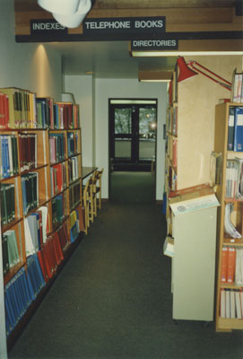 West Vancouver Memorial Library Reference Department