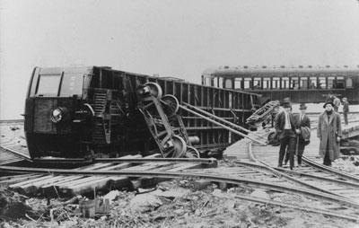 P.G.E. Railway Train Derailment