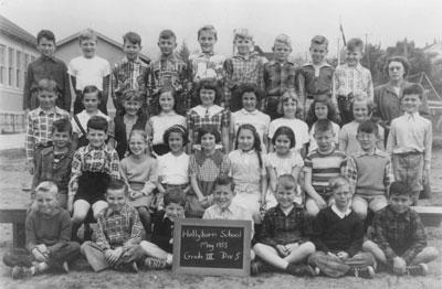 Hollyburn School Grade III Class (1953)