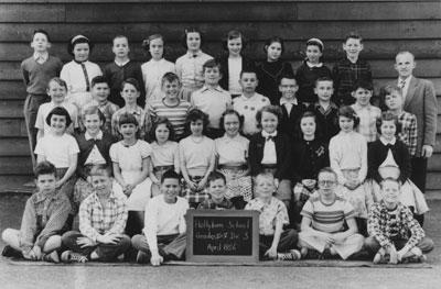 Hollyburn School Grade IV & V Class (1956)
