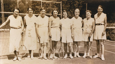 Women's Tennis Group