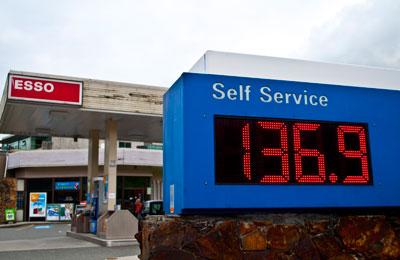 Esso Gas Station Sign
