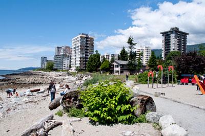 Waterfront Apartments & Playground