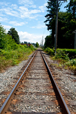 Railroad Tracks at 17th Street