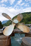 Propeller Fountain in Horseshoe Bay