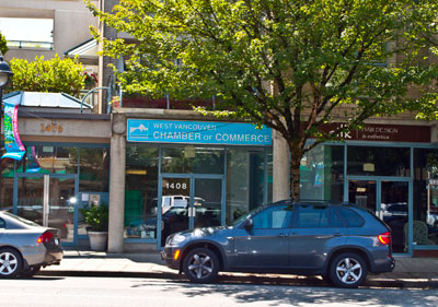 West Vancouver Chamber of Commerce & Silk Hair Design