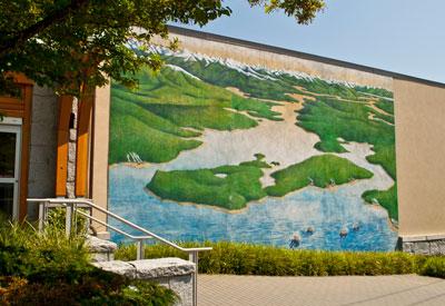 Mural of Burrard Inlet