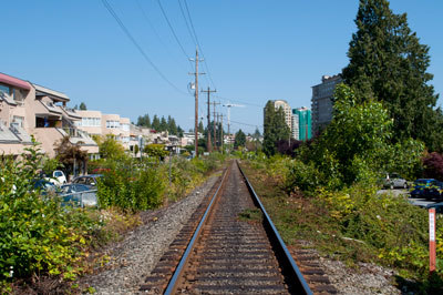 Railway at Bellevue & 25th Street